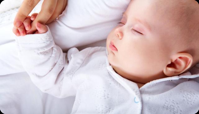 infant young boy sleeping